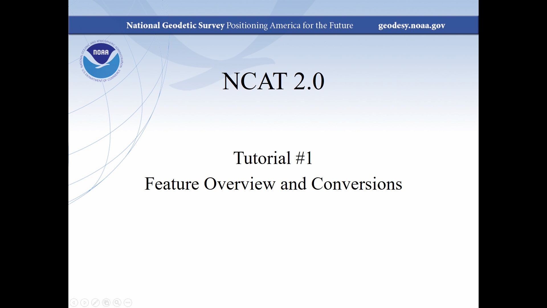 NGS Coordinate Conversion and Transformation Tool (NCAT)