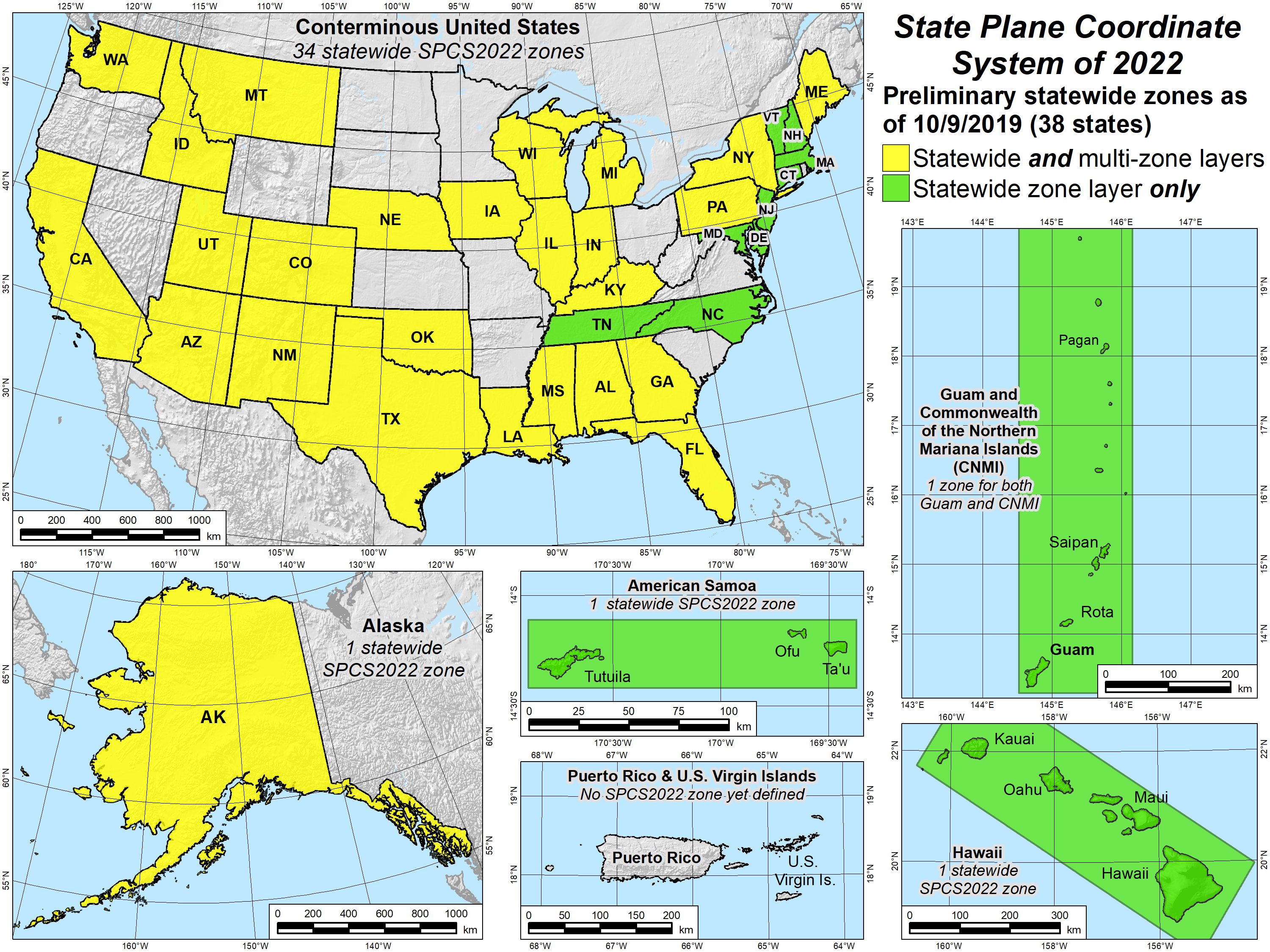 State Plane Coordinate System (SPCS) | Tools | National ... on california state plane map, texas state plane coordinate map, rectangular survey system map, indiana state plane coordinate zone map, example of coordinate system map, california coordinate system zone map, state of washington tribes map, missouri state plane coordinates map,