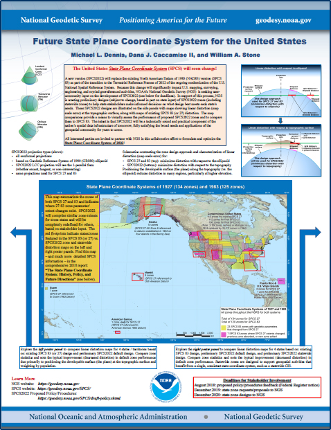 State Plane Coordinate System (SPCS) | Tools | National ...